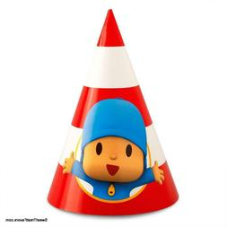 Pocoyo Party Hats Favor Supplies Birthday Decoration Kid Tre