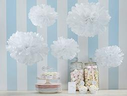 Pom Poms Tissue Paper Flowers Flower Ball for Wedding Party