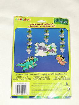 NEW RARE DRAGON TALES  PARTY SUPPLIES DANGLING DECORATIONS