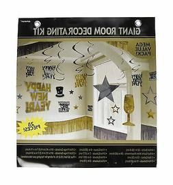 Amscan Rocking New Year Party Giant Room Decorating Kit
