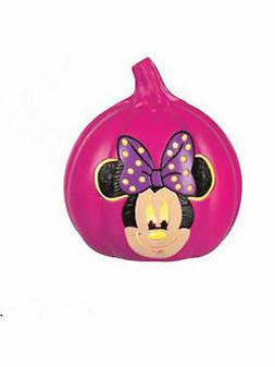 Seasons Usa Minnie Mouse 6 In Light Up Pumpkin Decoration