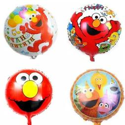 "Sesame Street Elmo18"" Anagram Balloon Birthday Party Decorat"