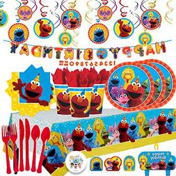 Another Dream Sesame Street MEGA Birthday Party Pack with De