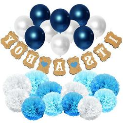 Set of 23 Party Decoration for Boy. IT'S A BOY Baby Shower H