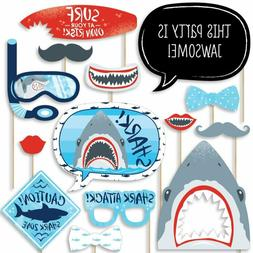 Big Dot Of Happiness Shark Zone - Jawsome Shark Party Or Bir