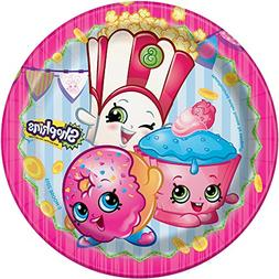 Shopkins Dessert Plates, 8ct