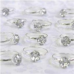 Silver Engagement Rings - 12 Ct