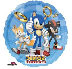 Sonic The Hedgehog 18 Anagram Balloon Birthday Party