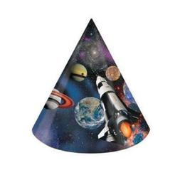 Space Blast Paper Party Hats