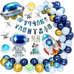 Space Theme Birthday Party Decorations for Boys, Party Suppl