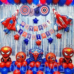 Spiderman Party Decorations Party supplies Spiderman Balloon