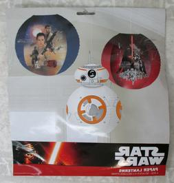 star wars episode vii paper lanterns party