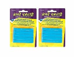 """Amscan Sticky Tack Party Decoration Adhesive, Blue, 6"""" X 3.8"""