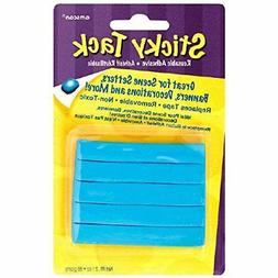 """Amscan Sticky Tack Party Decoration Adhesive Blue 6"""" X 3.8"""""""