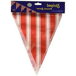 Striped Pennant Banner Party Accessory