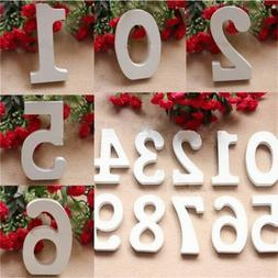 Supplies DIY Table Craft Wooden Numbers Wedding Party Plaque