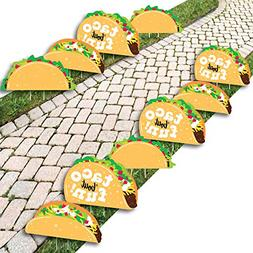 Big Dot of Happiness Taco 'Bout Fun - Lawn Decorations - Out