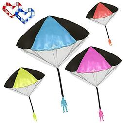 Veliis Tangle Free Throwing Toy Parachute Men No Strings No