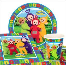 TELETUBBIES Birthday Party Range - Kids Tableware Balloons D