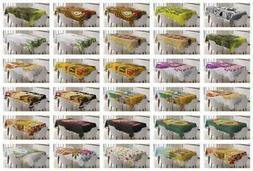 Tiki Bar Tablecloth Ambesonne 3 Sizes Rectangular Table Cove