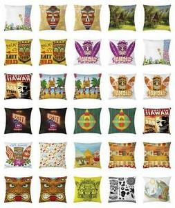 Tiki Bar Throw Pillow Cases Cushion Covers Home Decor 8 Size