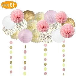 Sopeace 19PCS Tissue Craft Decoration Kit | Pretty Party Sup