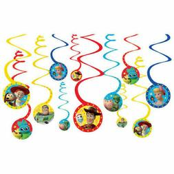 Toy Story 4 Hanging Spiral Decorations Kids Birthday Party S
