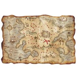 Treasure Map Decoration Pirate Buried Loot Hidden Game Gift