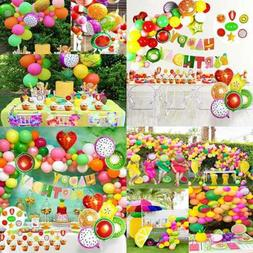 Tutti Frutti Party Decorations Set For Kids Happy Birthday B