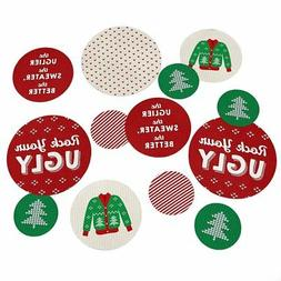 Ugly Sweater - Holiday & Christmas Party Table Confetti - 27