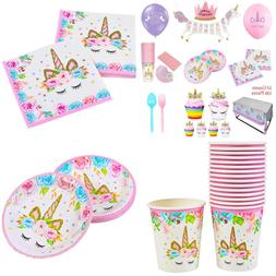 Unicorn Party Supplies Favors Magical Birthday Decorations B