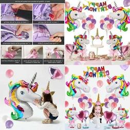 Unicorn Party Supplies For Birthday Decorations Kids 1 Glitt