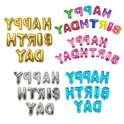 "US 16"" ""Happy Birthday"" Foil Alphabet Letters Balloons P"