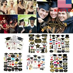 US 2019 Graduation Grad Party Supplies Masks Photo Booth Pro