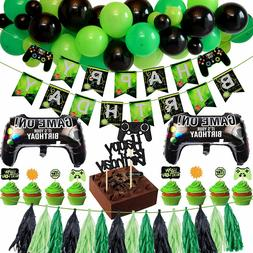 Video Game Birthday Party Supplies Decorations for Gamer Boy