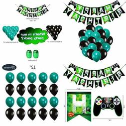 Video Game Party Decorations Supplies For Boys Kids Birthday