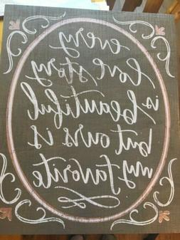 """Wedding Sign - Primitives By Kathy """"Every Love Story"""" Wooden"""