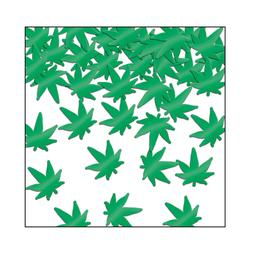 Weed Confetti Table Decor Birthday Party 1960's Marijuana Ca