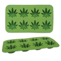 Weed Ice Mold Jello Shots Birthday Party 1960's Marijuana Ca