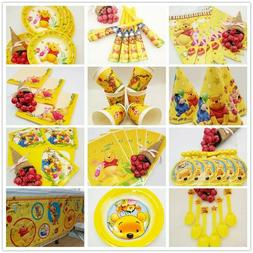 Winnie the Pooh Party Decorations Kids Birthday Party Suppli