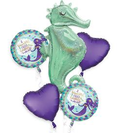 Wishful Mermaid Balloon Bouquet ~ Birthday Party Decorations