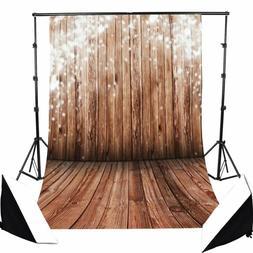 wooden theme photography background vinyl cloth backdrop