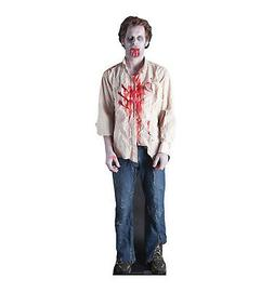Zombie Guy Lifesize Cardboard Cutout Party Decoration Poster