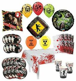 Mayflower Products Zombie Party Supplies 8 Guest Decoration
