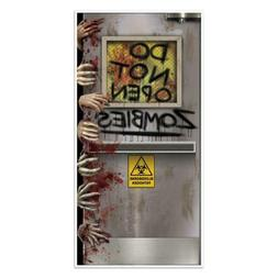 """Beistle Zombies Lab Door Cover, 30"""" by 5', Multicolor 30 5-I"""